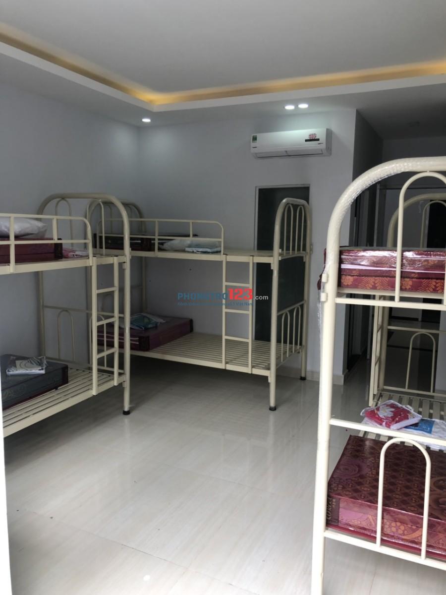 Cho nữ thuê Ký túc xá mới xây, Full nội thất, mặt tiền 79 Tô Hiến Thành P13 Quận 10