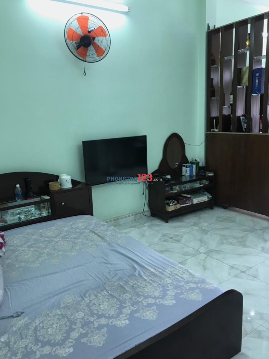 Chính chủ cho thuê nhà nguyên căn 4x19m 4 lầu đường 10m tại Kinh Dương Vương, Q.6
