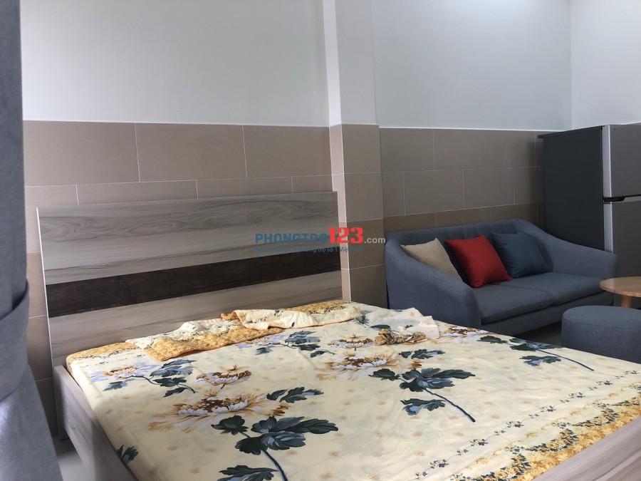 Cho thuê căn hộ dịch vụ, Full nội thất mới 100%, giá từ 4tr/tháng tại Trần Xuân Soạn, Q.7