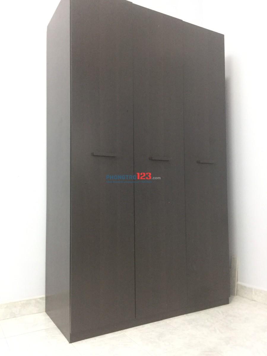 Phòng cho thuê 6x5(30m2), xách valli vào ở ngay