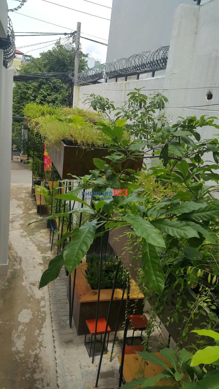 Cho thuê phòng giá rẻ quận Bình Thạnh - thuận tiện - không gian xanh