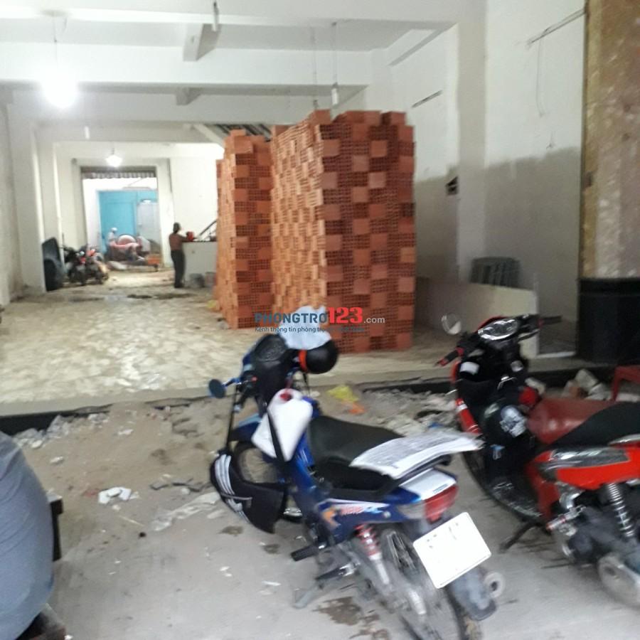 Chính chủ cho thuê mặt bằng kinh doanh mặt tiền 417 Bình Trị Đông, P.BTĐ A, Q.Bình Tân