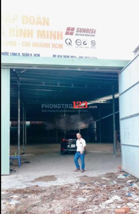 Cho thuê Kho Xưởng DT 100m2 - 500m2 Tại Dương Đình Hội, Phước Long B, Q.9