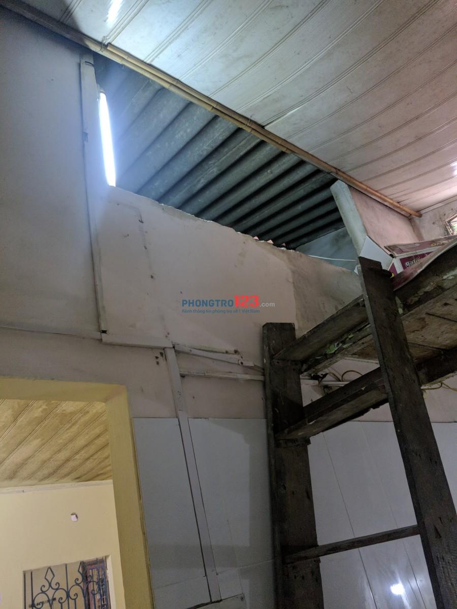 Nhà cấp 4, 33m2, 4 phòng, gác xép, Khương Trung