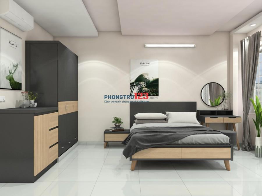 Cho thuê phòng ở lâu dài, nội thất đẹp như khách sạn 4 sao, ở càng lâu giá càng rẻ