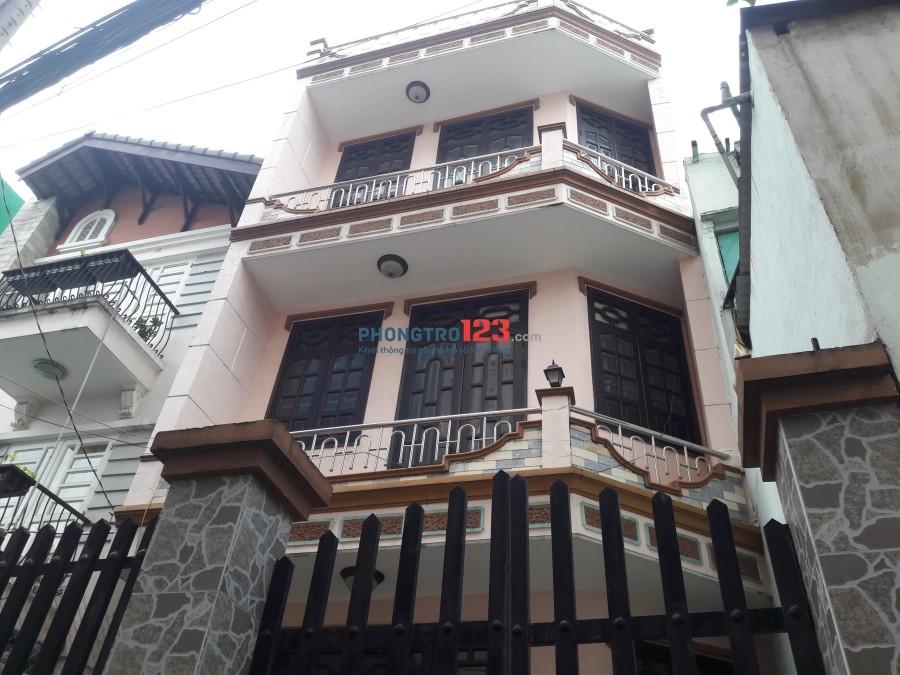 Cần cho thuê nhà nguyên căn ở Hồ Thúc Tịnh, P.12, Gò Vấp giá 8tr gồm 1 trệt 2 lầu. LH: Thư 0931337445