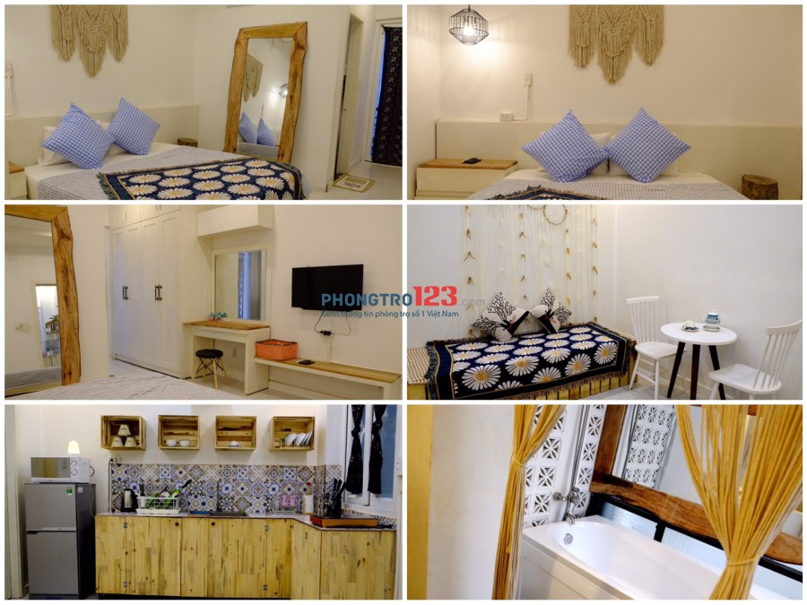 Service apartment đầy đủ nội thất dịch vụ 10 Triệu Nguyễn Thái Bình, Q.1 sát chợ Bến Thành