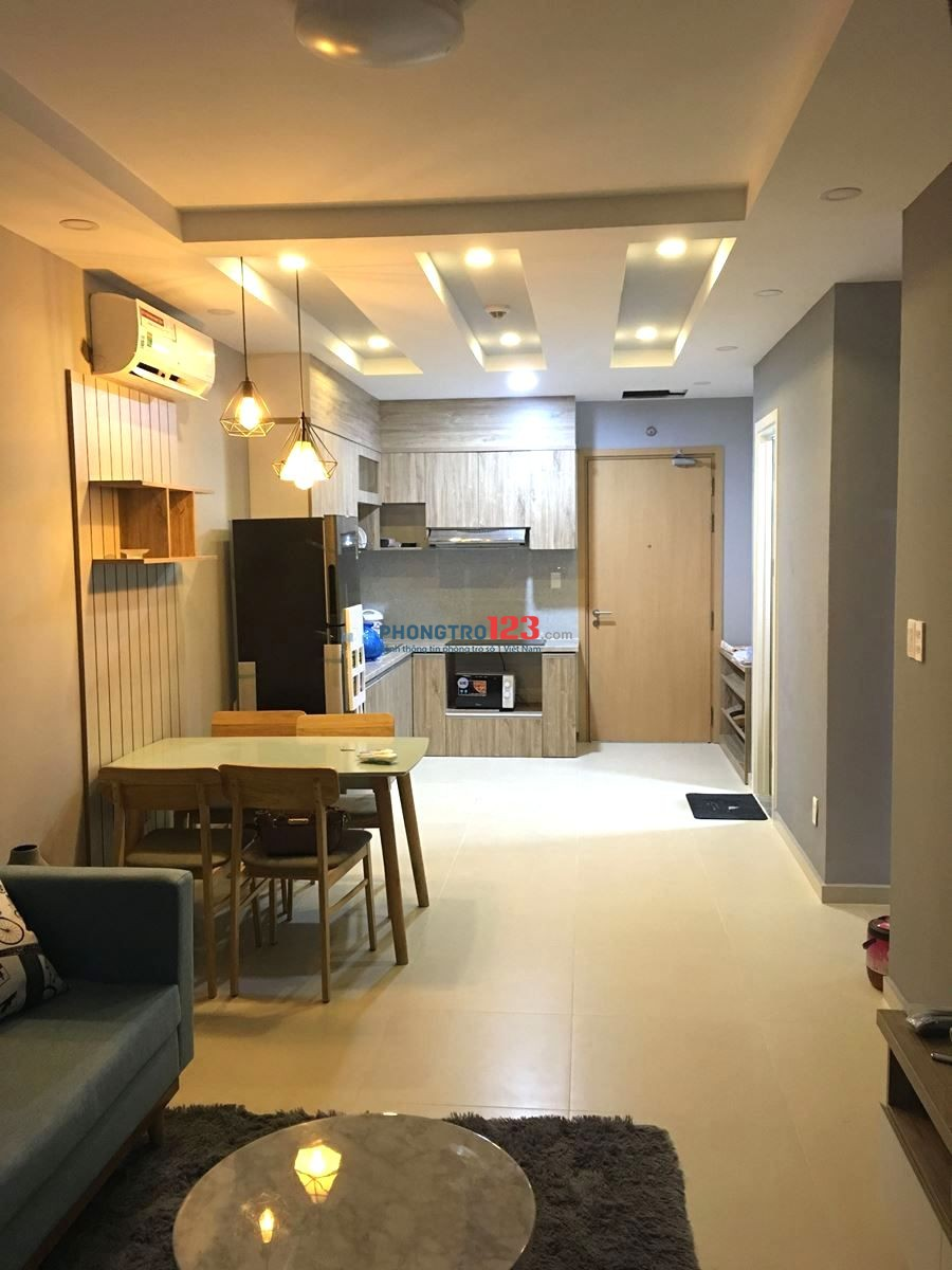 Cho thuê căn M-one Nam Sài Gòn 58m2/2PN, giá 9tr/tháng