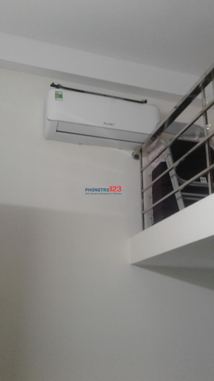 Phòng trọ nhà mới xây đầy đủ điều hoà bình nóng lạnh phòng khép kín