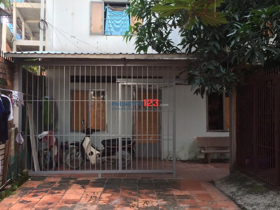 Nhà cho nữ thuê khu vực yên tĩnh, an ninh, không chung ngõ với chủ