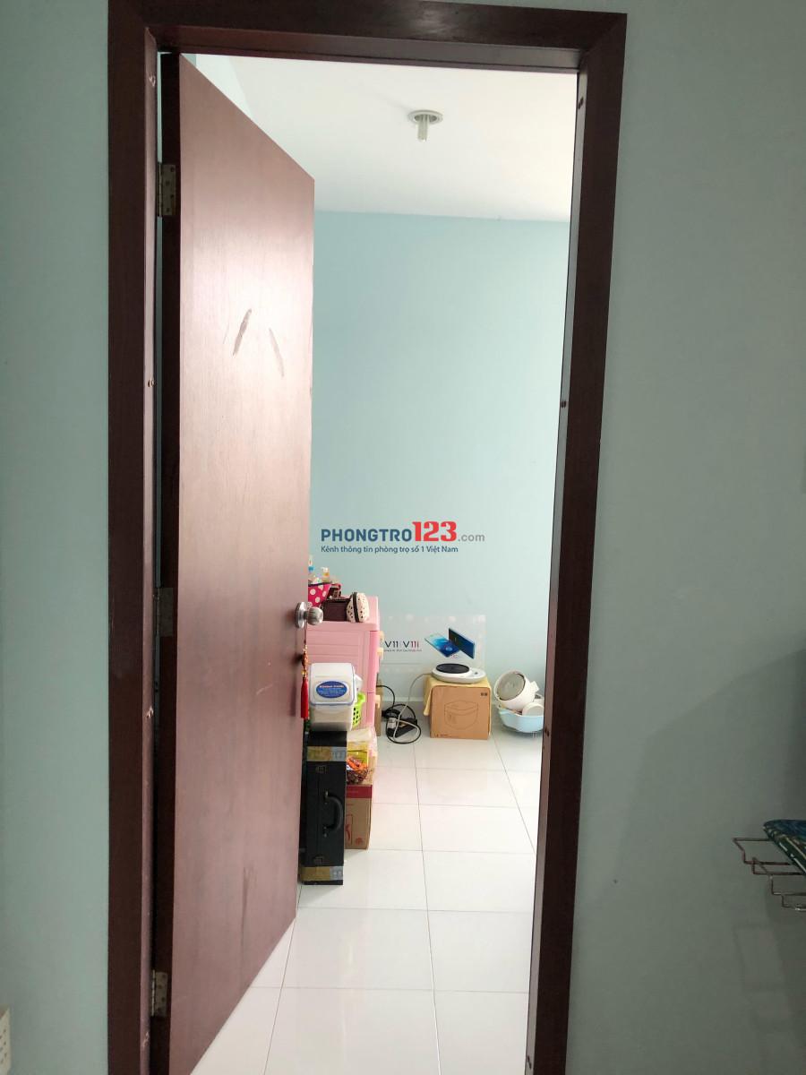 cho nữ share phòng mới, thoáng mát, sạch sẽ, yên tĩnh, gần đại học RMIT, SC vivo city, đại học Tôn Đức Thắng 5 phut