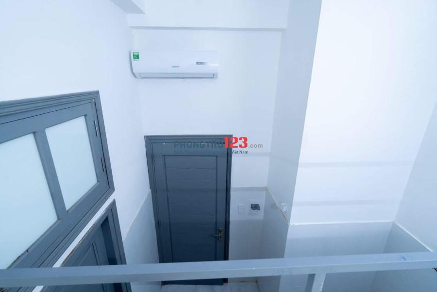 Cho thuê nhà trọ cao cấp máy lạnh máy giặt. Sân thượng. Nuôi thú