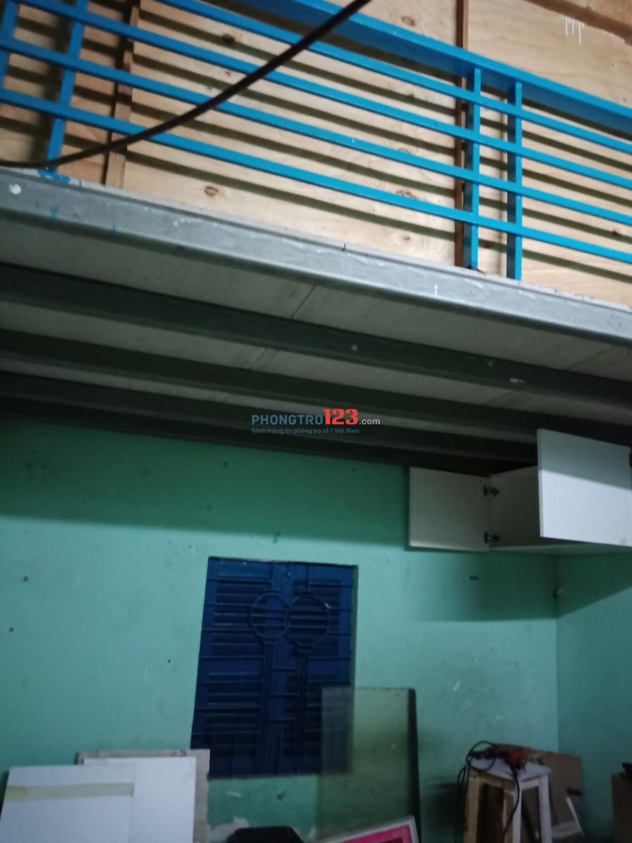 Phòng có gác 17m2 gần ngã 4 Trung Chánh