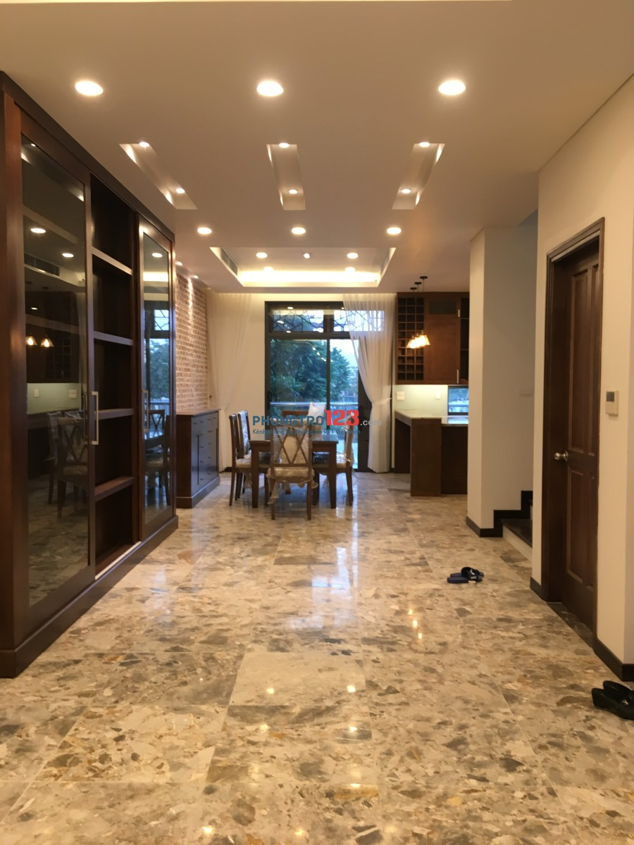 Cho thuê biệt thự Trung Văn, đầy đủ nội thất