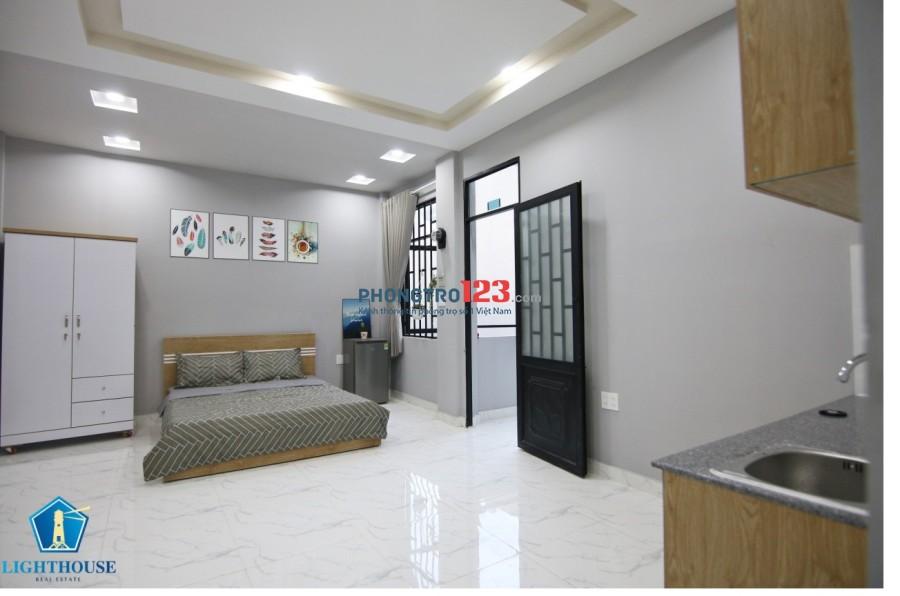 Cho thuê căn hộ đầy đủ tiện nghi Ung Văn Khiêm- Nguyễn Xí. Nội thất mới 100%