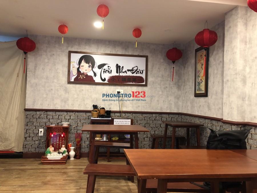 Chính chủ cần sang mặt bằng quán ăn 160m2 tại Nguyễn Đình Chiểu, P.Đa Kao, Q.1