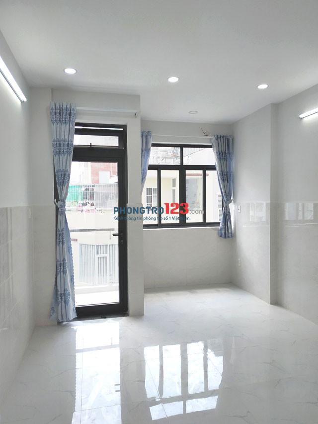 Cho nữ thuê phòng trọ Q.Bình Thạnh, 25m2 mới đẹp, có ban công, cửa sổ, hẻm 7m. Giá rẻ nhất khu này
