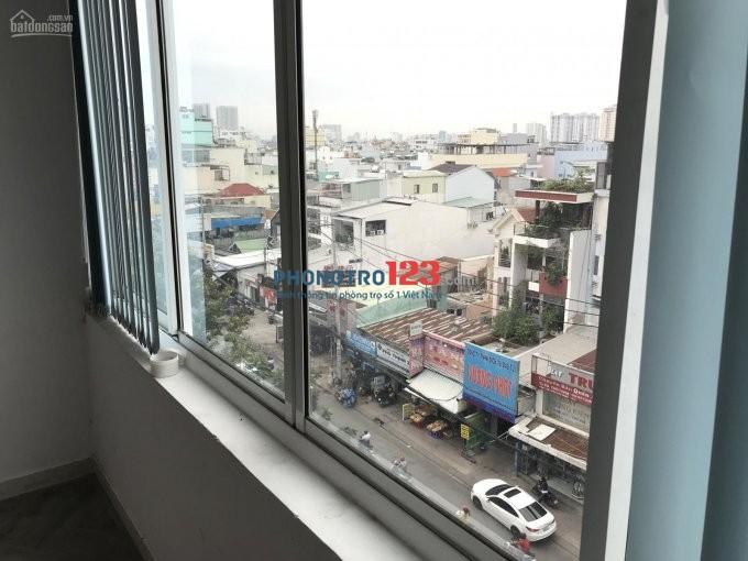 Mặt bằng kinh doanh, 30m 2,7tr/th, free dịch vụ, bảo vệ 24/24, có sẵn bàn ghế, mặt tiền Nguyễn Thị Thập, Quận 7