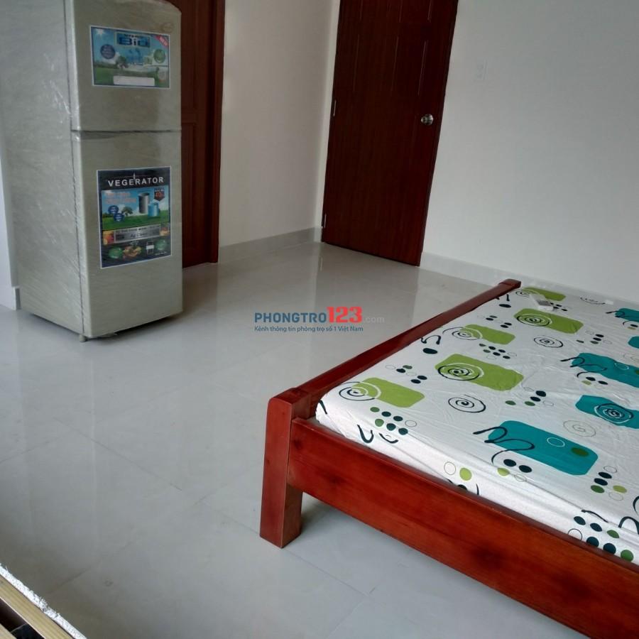 Cho thuê phòng trọ full nội thất 30A , phường 12, Tân Bình