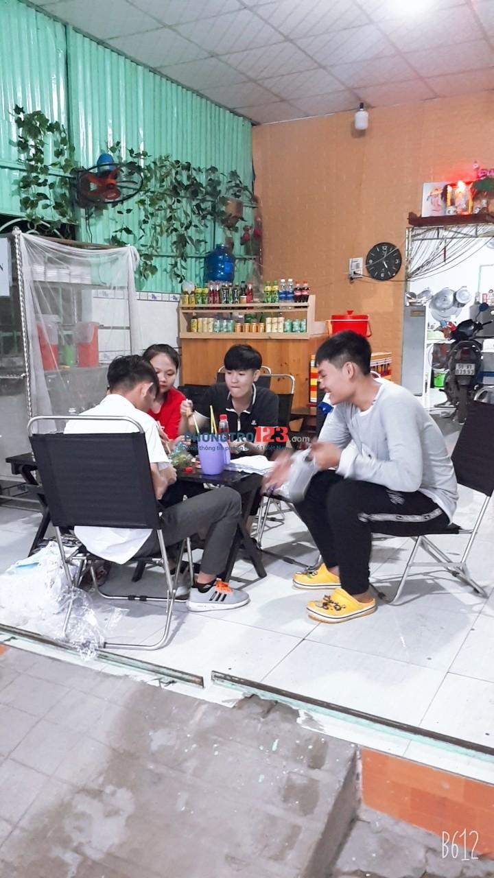 Chính chủ cần sang quán Cafe và ăn vặt đầy đủ dụng cụ mặt tiền Nguyễn Văn Bứa, Hóc Môn