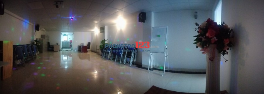 Cho thuê phòng làm việc, phòng hội thảo, phòng dạy học tại Trường Chinh