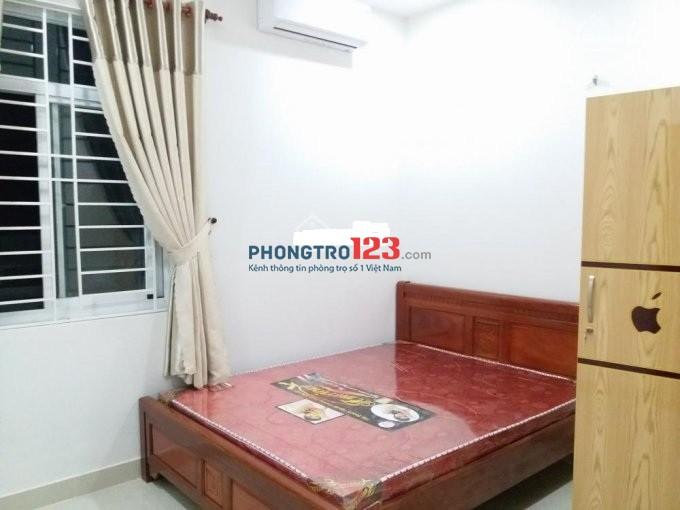 Phòng sạch sẽ, thaongs mát có nội thất Trần Quang Khải, giá 4tr/tháng
