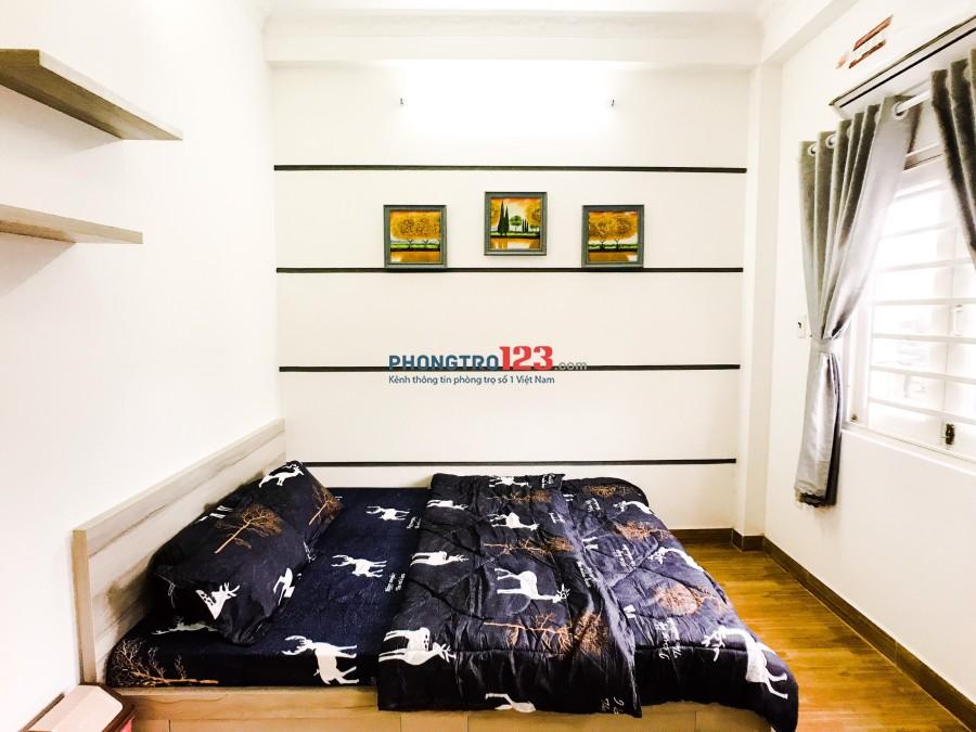 Cho thuê phòng trọ cao cấp, full nội thất, giá 6 triệu/tháng
