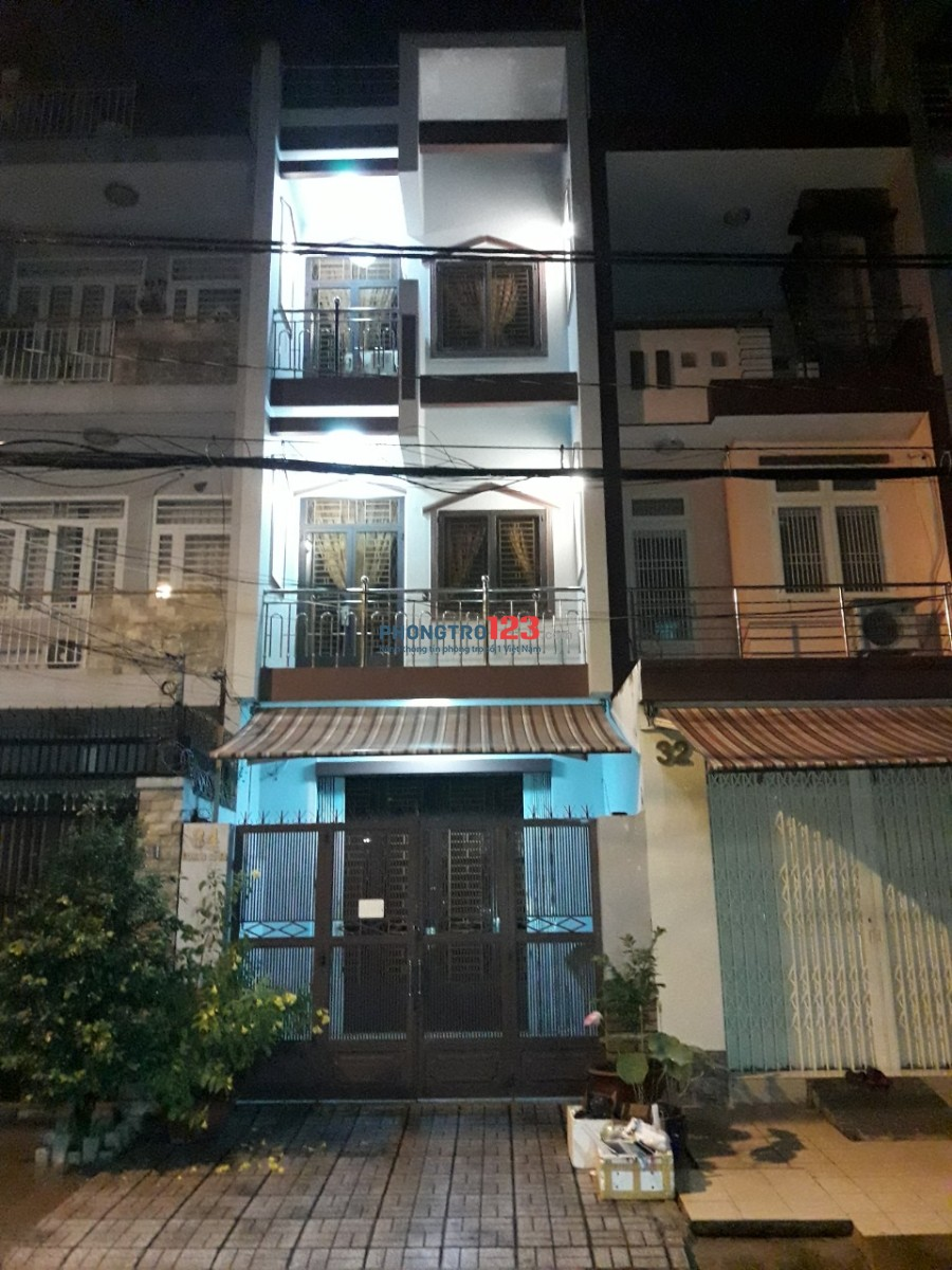 Cho thuê nhà tại số 34, đường 5A, Bình Trị Đông B, Quận Bình Tân