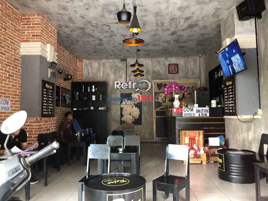 Chính chủ cần sang quán cafe Mặt tiền 89 Lũy Bán Bích, P.Tân Thới Hòa, Q.Tân Phú Mr Doanh