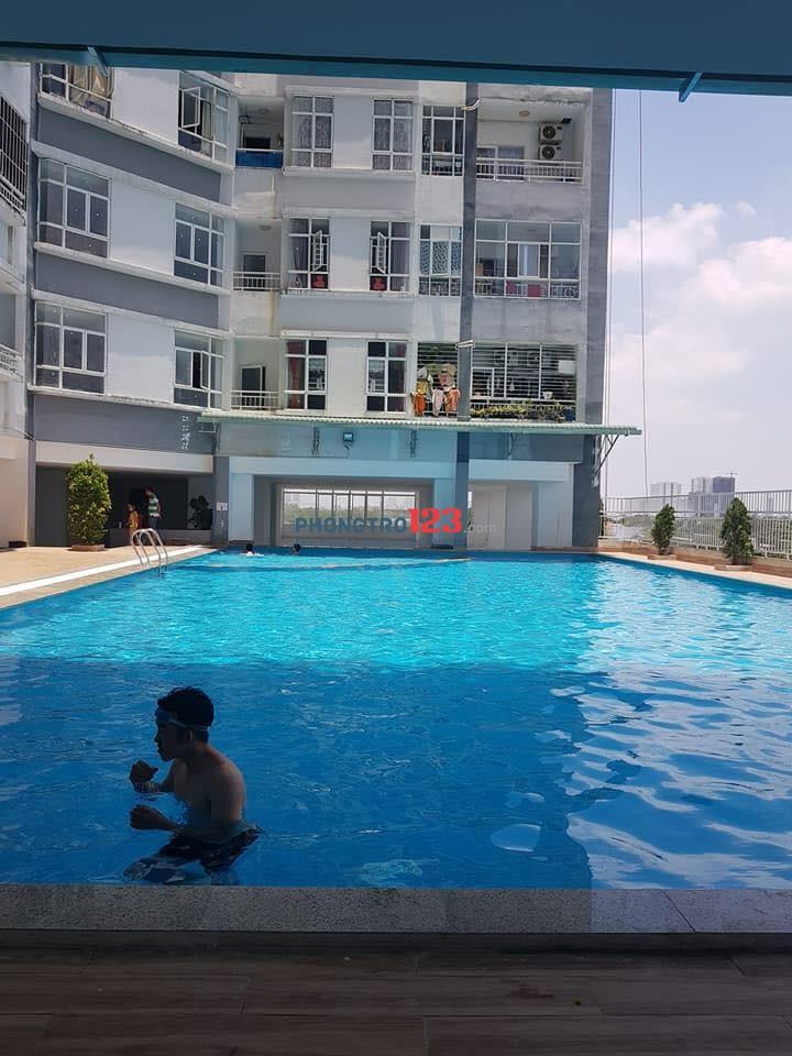 Cho thuê căn hộ chung cư Easter City, Bình Chánh, giao lộ Phạm Hùng cắt Nguyễn Văn Linh. Dt 72m2, 2 phòng ngủ