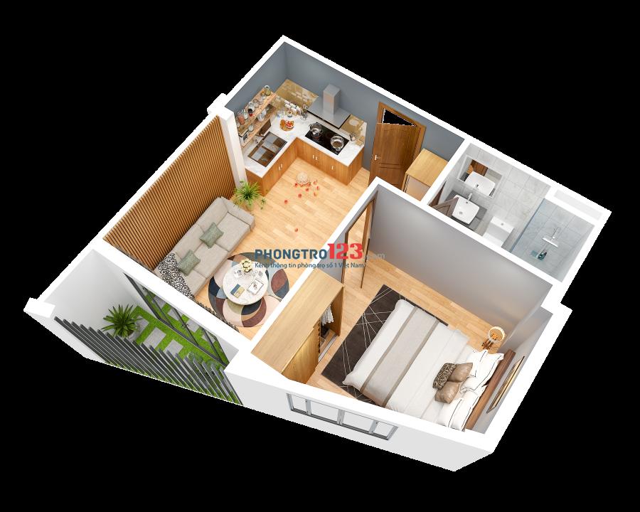 Cho thuê căn hộ Quận Hải Châu 2PN full nội thất, chỉ từ 3 triệu