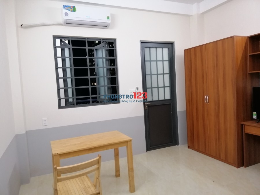 Phòng trọ 1 phòng ngủ riêng, full nội thất giá rẻ 6tr_F.Phú Thạnh_Q.Tân Phú