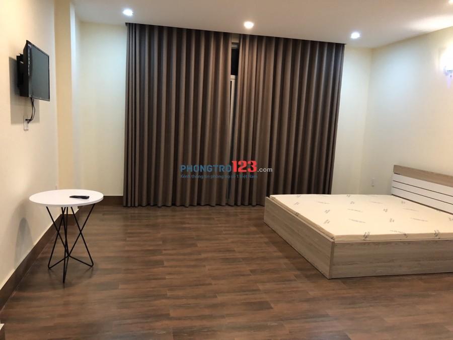 Phòng mới đẹp khu sân bay ,full nội thất , cv gia định
