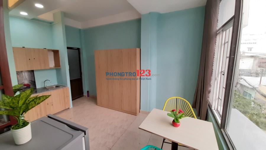 Phòng đẹp giá rẻ FULL nội thất phù hợp ở 3-4 người cửa sổ thông thoáng đối diện ĐH Văn Lang Phan Văn Trị Bình Thạnh.