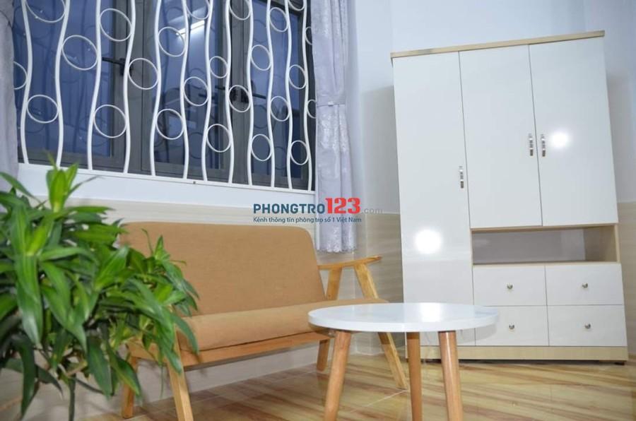 Phòng cho thuê khu vực Tân Bình giá rẻ - có máy lạnh - không chung chủ
