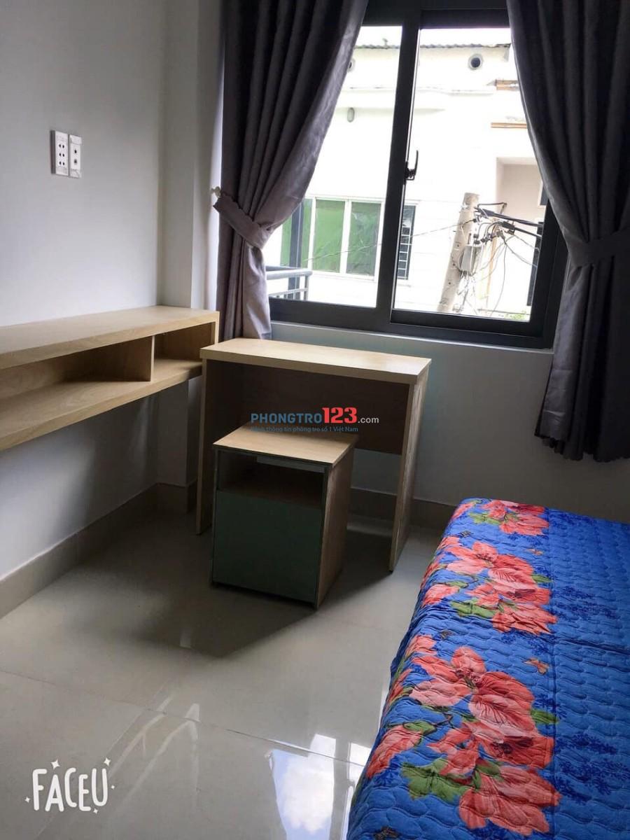 Phòng trọ cao cấp mới xây, gần cầu Chu Văn An, Q.Bình Thạnh (có ban công view Landmark 81)