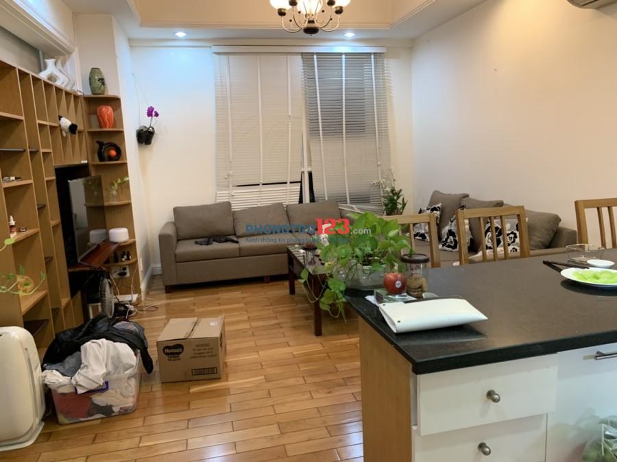 Cho thuê căn hộ chung cư The Manor 52m2 1pn Full nội thất Nguyễn Hữu Cảnh, Q.Bình Thạnh