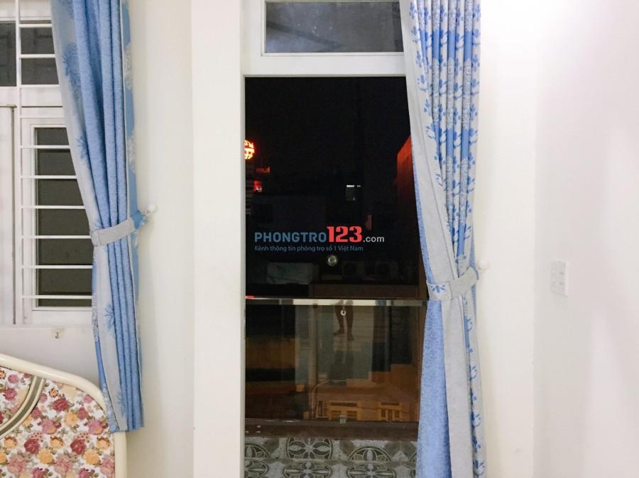 Phòng ban công máy lạnh 35m2 P.4, Quận 8