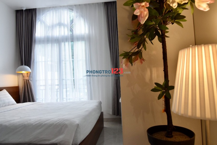 Căn hộ 35m² 1PN riêng biệt với phòng khach Phú Nhuận