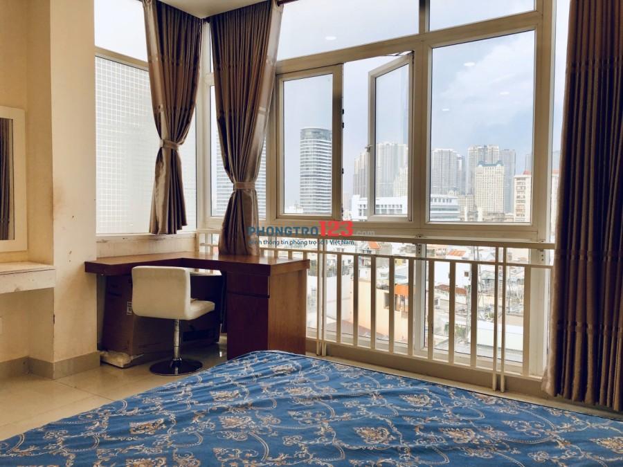 Cho thuê căn hộ dịch vụ cao cấp - đầy đủ tiện nghi - Huỳnh Mẫn Đạt, Quận Bình Thạnh
