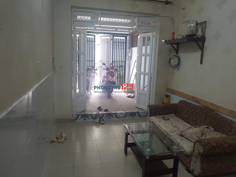 Cho thuê nhà nguyên căn đường Trần Bá Giao, trung tâm P.5, Q.Gò Vấp, dtsd 100m