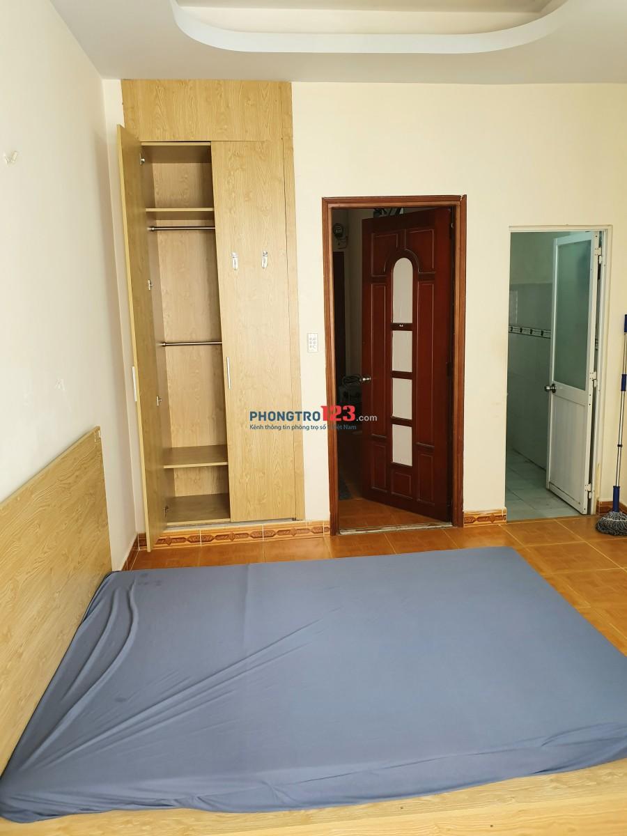Phòng trọ 20m2 Cù Lao, Phú Nhuận (Phan Xích Long) + Ban công, Cửa sổ