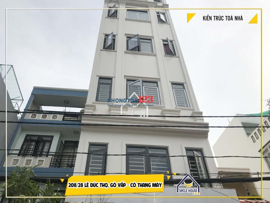 Phòng trọ mới xây quận Gò Vấp, có thang máy, gác lửng, giờ giấc tự do