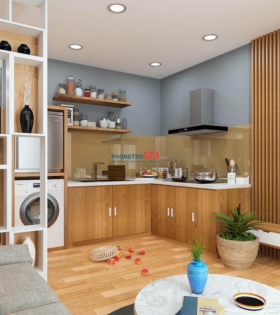 Căn hộ quận Hải Châu 30m2 nội thất mới, giá 4 triệu