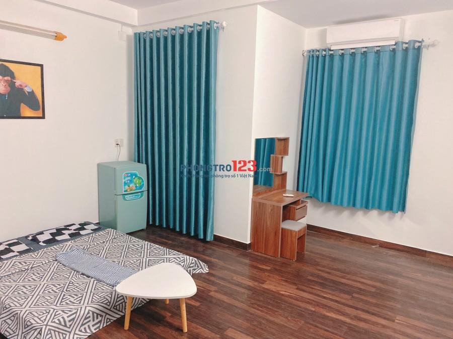 Phòng trọ full nội thất, toilet + ban công riêng, kv Gò Vấp