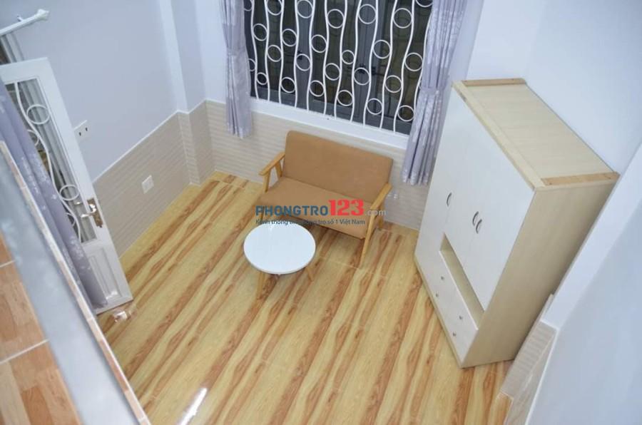 Phòng cần cho thuê gấp trong tháng khu vực Tân Bình- giá rẻ- full nội thất- có gác- giờ giấc tự do- không chung chủ