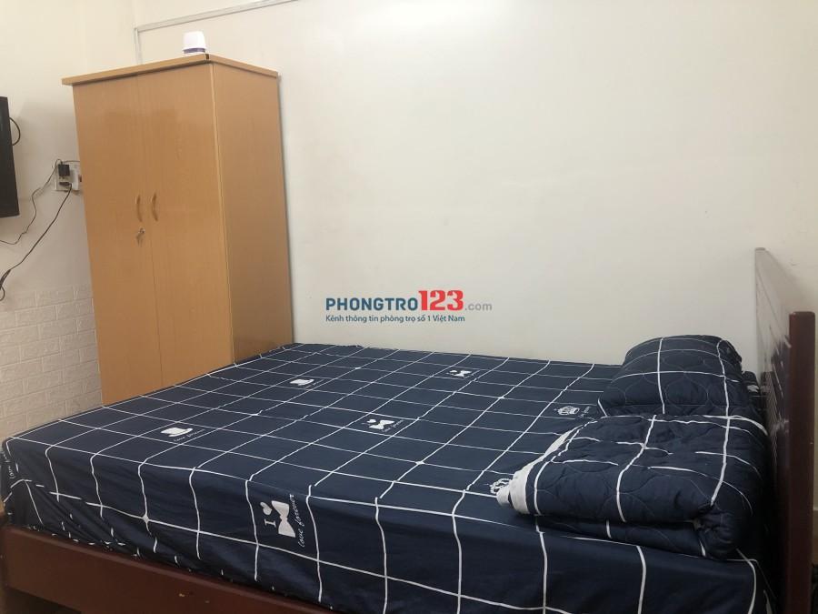 Phòng đầy đủ nội thất-Quận 3 và 1 CMT8