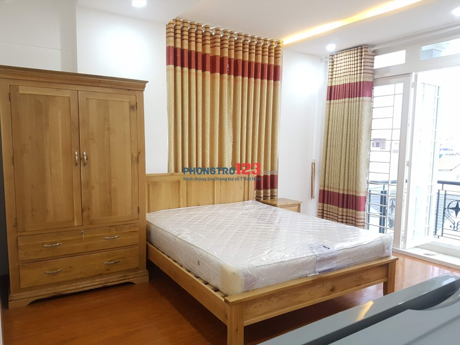 Căn hộ đầy đủ tiện nghi, full nội thất chỉ 5tr5 30m2 quận Phú Nhuận