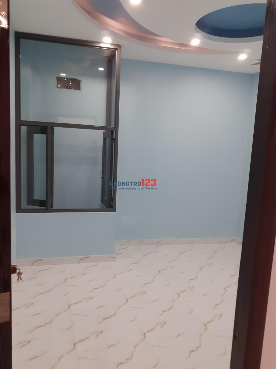 Nhà trệt lửng 3 lầu Phạm Văn Chiêu, P.14, Gò Vấp, mới xây, rất đẹp