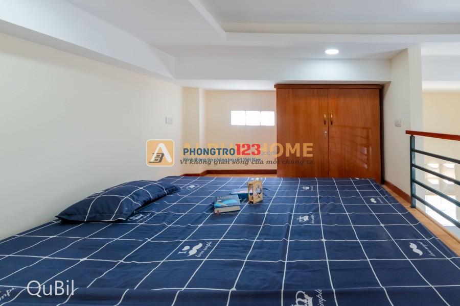 Phòng trọ cao cấp trong chung cư mini mới xây, full nội thất gần cầu Tân Thuận